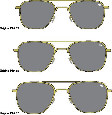 Original Pilot Sunglasses  ao eyewear limited edition original pilot sunglasses