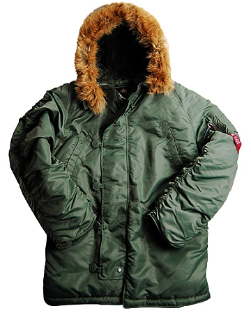 ALPHA N3B-PARKA Flight Jacket