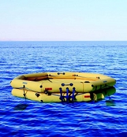 Winslow 36-54 Person FACOM CNUL Commercial Type One Life Raft