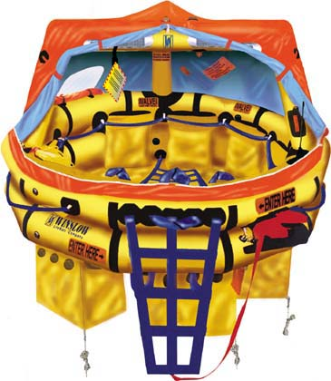 Winslow FAA Approved Part 135  (6 to 9 man) Life Raft Rental