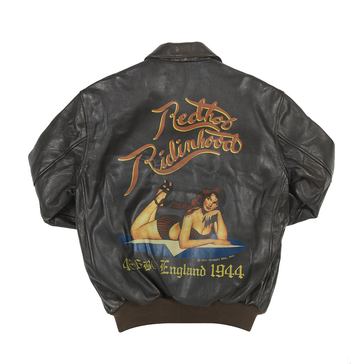 Mustang A-2 Leather Flight Jacket