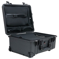 Pelican 1560LOC  Laptop Overnight Case - Color: BLACK
