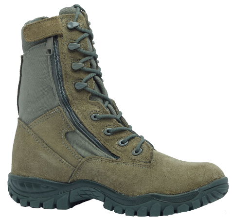 Belleville 612Z ST Hot Weather Side-Zip Tactical Steel Toe Boot