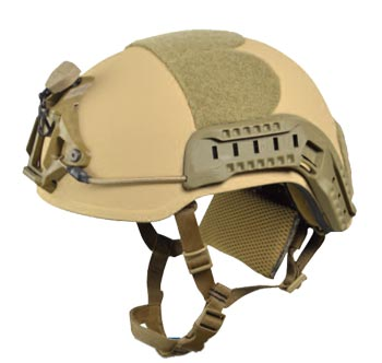 AS-501 Ultra Lightweight HIGH-CUT Ballistic Helmet for Military Troops