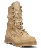 CLOSEOUT!!! BELLEVILLE BOOTS 390 DES - HOT WEATHER TAN COMBAT BOOTS