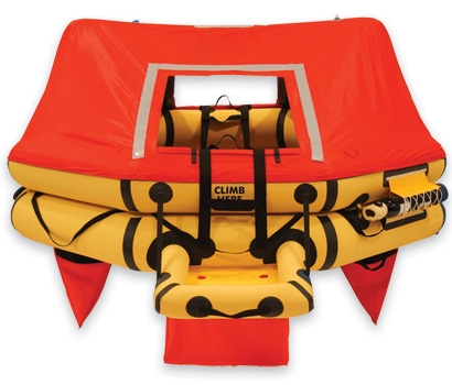 T7AS 7 Man VIP Series Life Raft FAR 121 PN:R1500-101