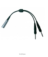 FISCHER (8 PIN) HEADSET TO GA ADAPTER