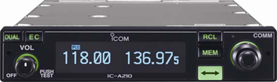 ICOM A210 VHF Air band Transceiver