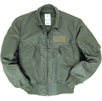 MIL-SPEC SAGE GREEN NOMEX CWU 36/P Flight Jacket