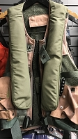 ONE OF A KIND !!!! NEW -FADED SAGE GREEN MSV971 AIRCREW LIFE PRESERVER SURVIVAL VEST