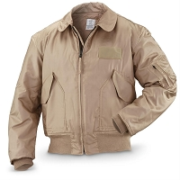 MIL-SPEC DESERT TAN NOMEX CWU 36/P Flight Jacket