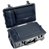 Pelican 1510 Laptop Overnight Case, (1510LOC) - Color: BLACK