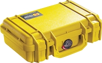 Pelican 1170 Pistol Case (With Foam) COLOR: YELLOW