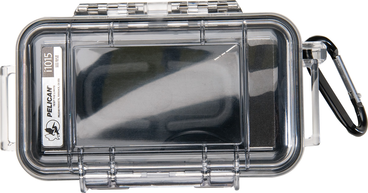 i1015 Micro iPhone Case - (Clear case with a BLACK liner)