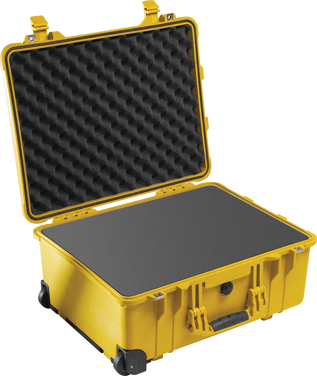 Pelican 1560 Protector Case (COLOR: YELLOW)