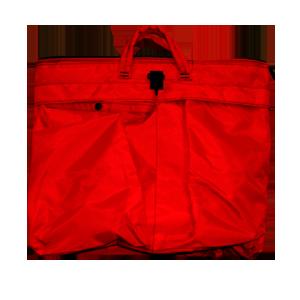 Helicopter Helmet Bag Red