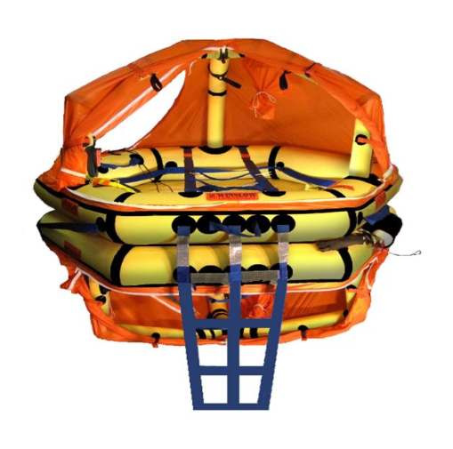 Winslow Life Raft - Soft Pack  8-12 Person ReversaSmart FA-AV (RVEL) Type 1 Life Raft