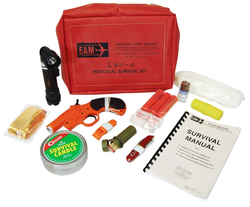 EAM-HELICOPTER SURVIVAL KIT, LSK-4