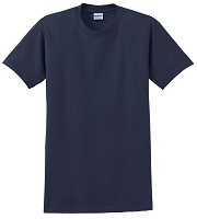 GILDAN ULTRA 100% COTTON T-SHIRT - COLOR: NAVY BLUE