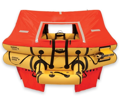 T11AS 11 Man VIP Series Life Raft  PN:R1570-211