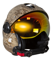 Kryptek Banshee Gold HydroDip with Ruby Red Lens