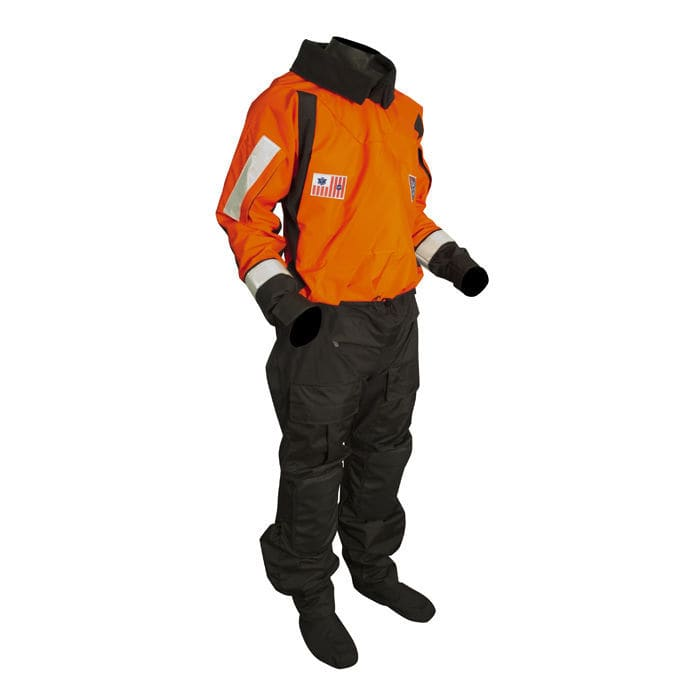 SENTINEL SERIES USCG LIGHTWEIGHT BOAT CREW DRY SUIT (Rubber Seals)