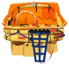 Winslow Life Raft - Ultra-Light FA-AV (SA) Soft Pack 6-9 Person  Type One LIfe Raft