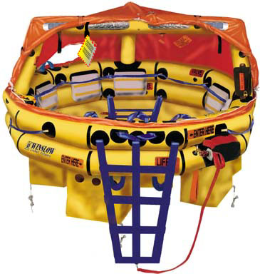 Winslow Life Raft-1320FAUL-Hard Pack 13-20 Person Ultra-Light FA-AV (UL) Type One Life Raft