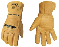 FR WATERPROOF LEATHER UTILITY GLOVE LINED WITH KEVLAR
