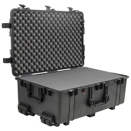 Pelican 1650 Protector Case (With Foam) Color: BLACK