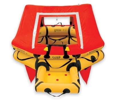 T4AS 4 Man VIP Series Life Raft JAR OPS 1 Kit / 135  pn:1200-341