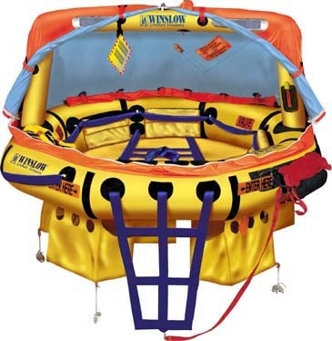 Winslow FAA Approved Part 91/121 (6 to 9 Man) Life Raft Rental - Island Flyer
