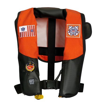 MD3183 22 MUSTANG SURVIVAL HIT INFLATABLE PFD FOR USCG (AUTO HYDROSTATIC)