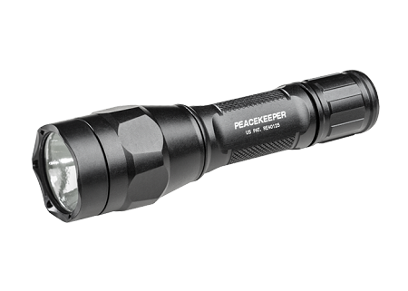P1R Peacekeeper Rechargeable Ultra-High Dual-Output LED Flashlight