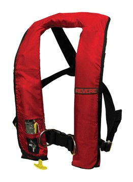 REVERE'S COMFORT MAX SERIES INFLATABLE MANUAL LIFE VEST