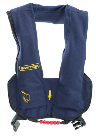 Switlik EV-35 Aviator Life Vest - W/Reflective Panel and Handle