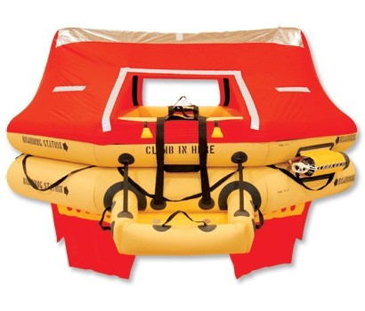 T14AS 14 Man VIP Series Life Raft PN: R1400-123