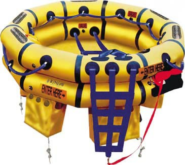 Winslow 7-10 Person Super-Light DualSafe Life Raft
