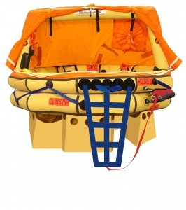 Winslow Ultra Light Offshore Life raft - 8 man w/ Valise Pack Life Raft